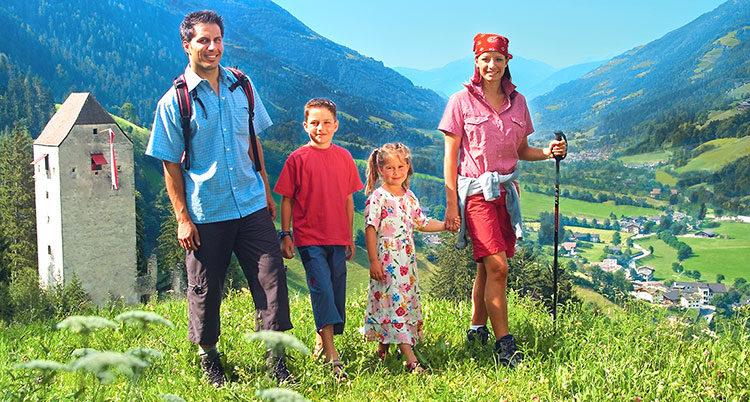 Mit der Familie wandern
