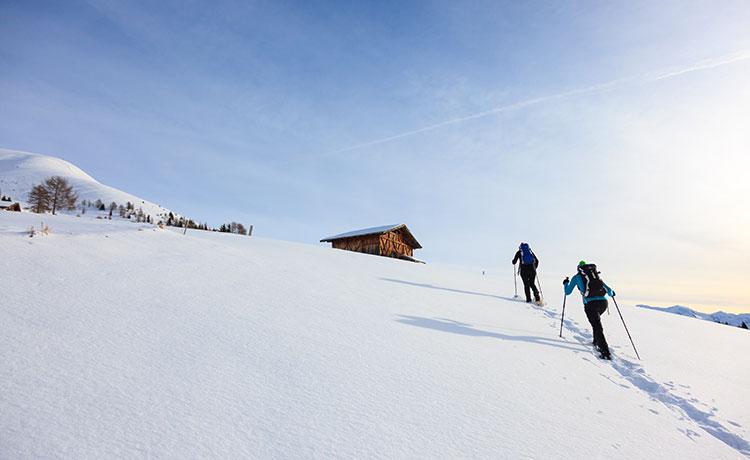 Schneeschuhwandern und Skitouren
